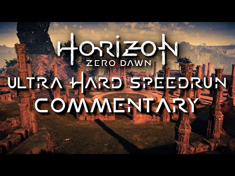 Horizon Zero Dawn NG+ Ultra Hard Speedrun Commentary [CRDQ Submission]