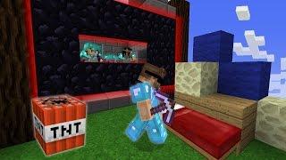 TNT LAUNCHING & OBSIDIAN TROLLING (Minecraft Bed Wars)