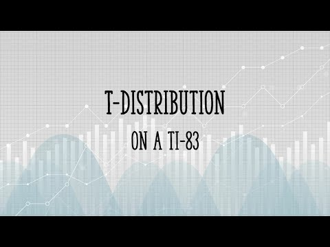 T Distribution Student S T Definition Step By Step Articles Video