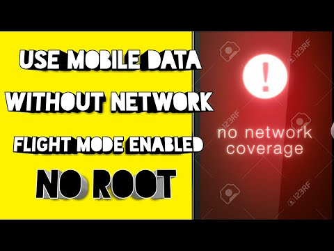 How To Use Mobile Data With Flight Mode Enabled Without Root