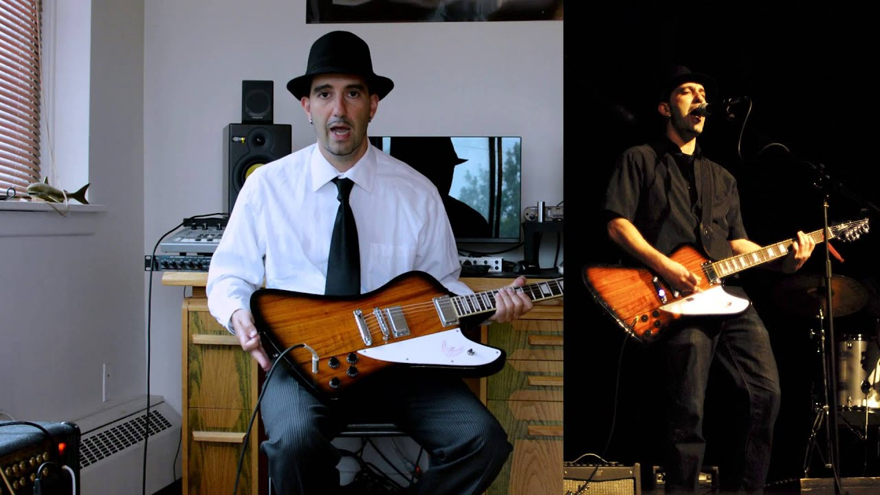 Dillion Firebird style electric guitar Sunburst with ...