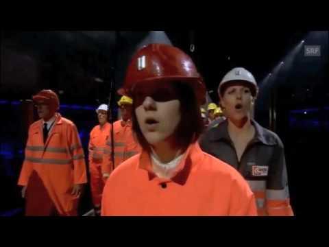 Satanism On Display!! Gotthard Tunnel Ceremony!  9/25/16