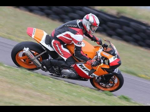 Honda Vfr 800 Repsol Custom Built Track Bike Youtube