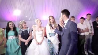 Атмосфера свадьбы. Ведущий Андрей Огнев