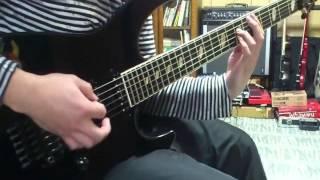 ソナタのWeballergyギターカバーです。 努力しましたが、ソロの完コピは...