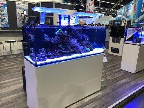 Interzoo 2018: Das schicke Systemaquarium AquaMedic Armatus von 250 bis 450 Liter