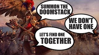 Karl Franz experiments with various doomstacks campaign
