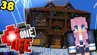 I tried Lizzie's Danger House .. - Minecraft One Life SMP EP38