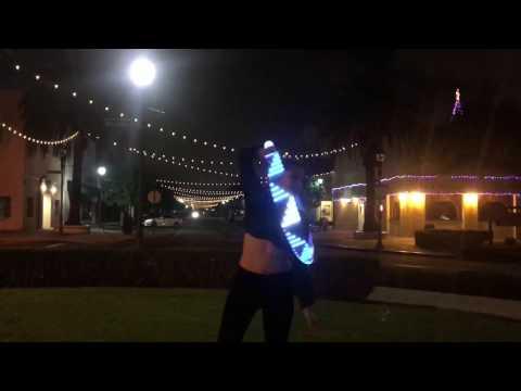 Pixie Flow Arts LED Future Hoop Flow Phillip George- Wish You Were Mine