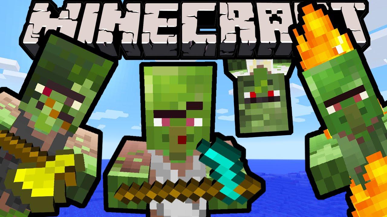 Minecraft Spielen Deutsch Skin Para Minecraft Pe Zombie Bild - Villager skin fur minecraft pe