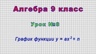 Алгебра 9 класс (Урок№8 - График функции y = ax2 + n)