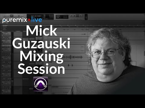 PureMix Mentors | Mixing Live | Using Avid Pro Tools & S6 Control Surface (Mick Guzauski)