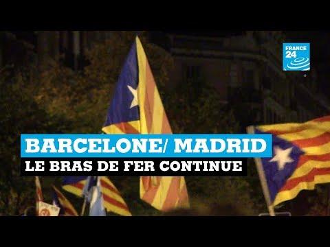 Barcelone/ Madrid : le bras de fer continue