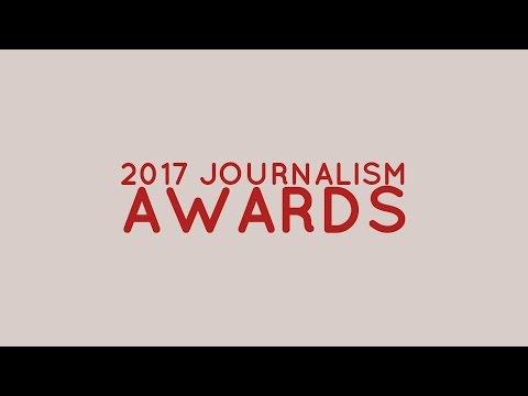 2017 Journalism Awards