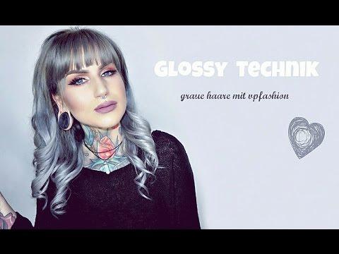 Lieblings Graue Haare Färben mit Vpfashion-Granny Hair Tutorial - YouTube &MK_72