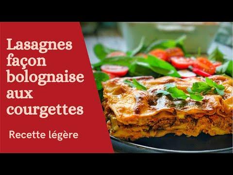 lasagnes-bolognaise-recette-légère-et-onctueuse