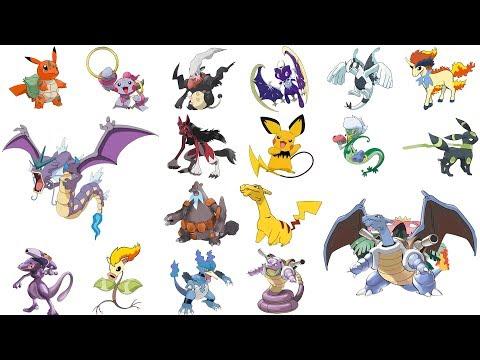 Top Pokemon Fusions & Animation #1