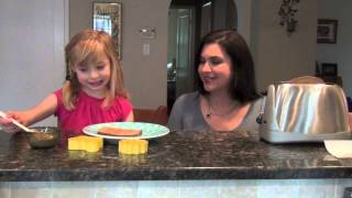 Toasties: Almond Butter & Toast Snack