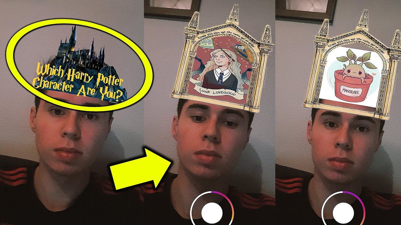 How to get the Disney and Harry Potter character Instagram filters