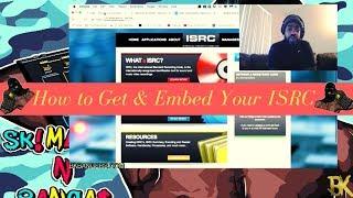 International Standard Recording Code How To Embed ISRC Using Studio One Pro 4
