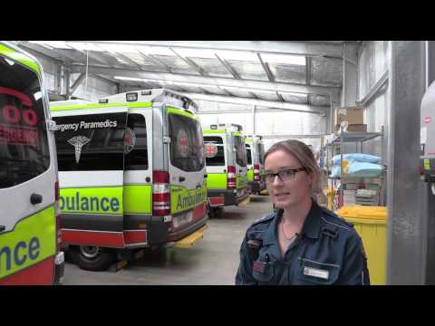 Behind the scenes at Cleveland Ambulance Station