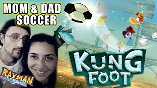 Lets Play Kung Foot: Mom & Dad do Soccer! (Rayman Legends Soccer PVP Match)