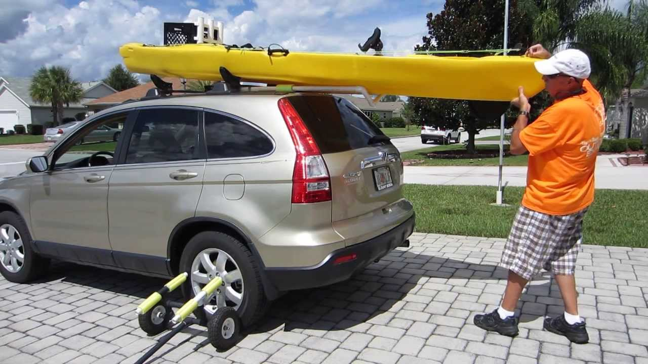 Pvc Rooftop Kayak Assist Youtube