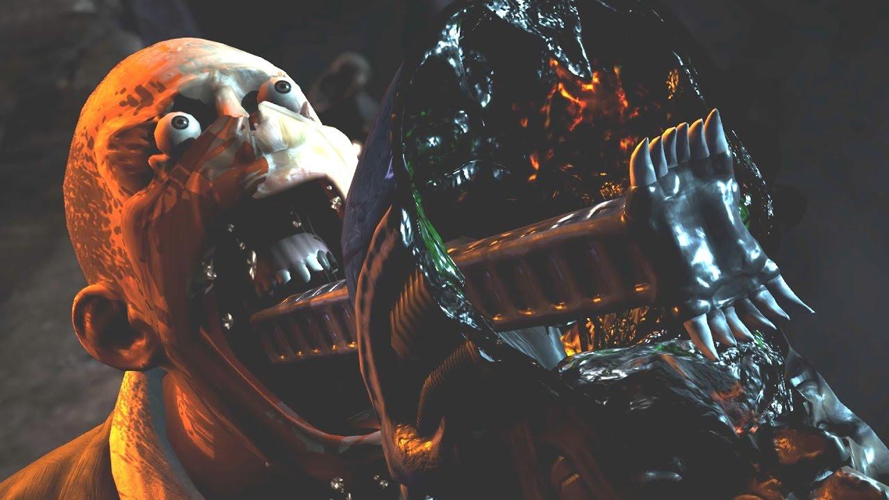 Mortal Kombat X Leatherface Unmasked