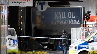'Everything Indicates' Terror Attack In Stockholm   The New York Times