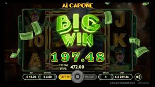 Al Capone online casino video slot from Slotmotion