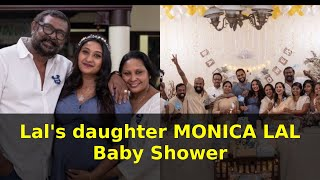 Gambar cover Director Lal's daughter MONICA LAL Baby Shower