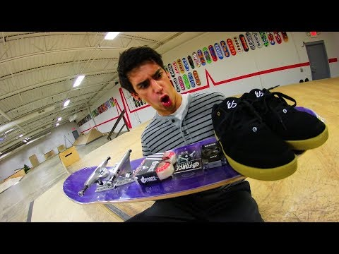 BRAND NEW EVERYTHING! | Winter Skate Setup