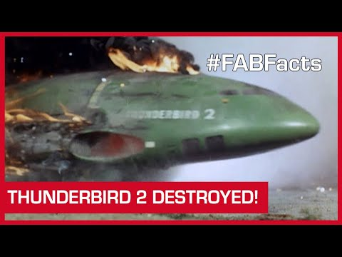 FAB Facts: Thunderbird 2 Destroyed! (And other TB2 mishaps)