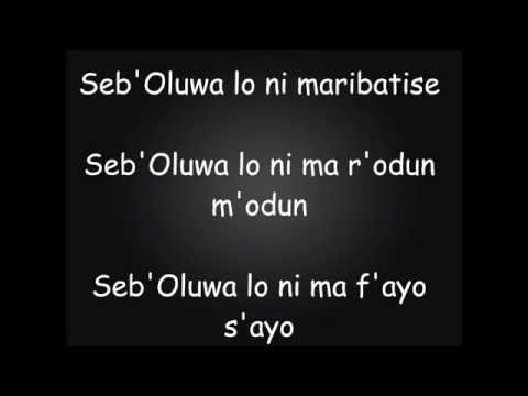 Wizkid - Oluwa Lo Ni ( Lyrics Video)