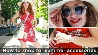 How to shop for women over 40 - summer accessories