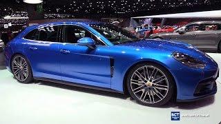 2018 Porsche Panamera 4S Sport Turismo - Exterior Interior Walkaround - 2017 Geneva Motor Show