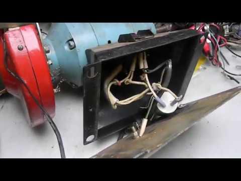 Ремонт электроточило найденного на мусорке.