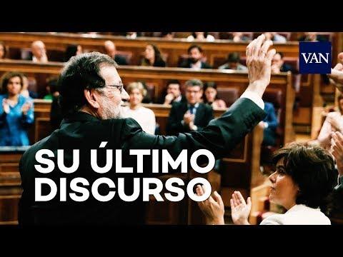 MOCIÓN DE CENSURA | El último discurso de Mariano Rajoy como presidente del Gobierno