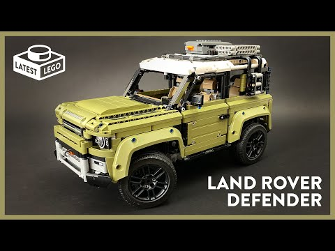 LEGO Technic - Land Rover Defender 42110 - Unboxing, Speed Build and Review