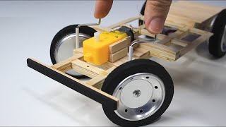 NEW METHOD REVEALED! HOW TO MAKE A CAR CONTROLLED BY REMOTE CONTROL RC! WITHOUT STIRLING ENGINE!
