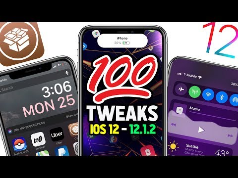 Top 100 iOS 12 Jailbreak Tweaks: BEST iOS 12 - 12.1.2 Cydia Tweaks of ALL TIME! 😱 💯