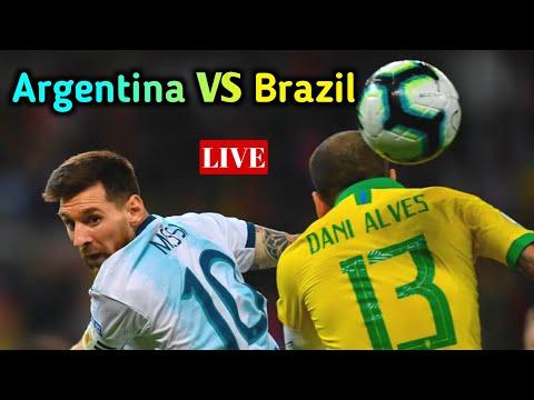 🔴 LIVE ARGENTINA VS BRAZIL FOOTBALL FRIENDLY MATCH IN KSA watch after 23 minutes hd|| Hawk Stark ||
