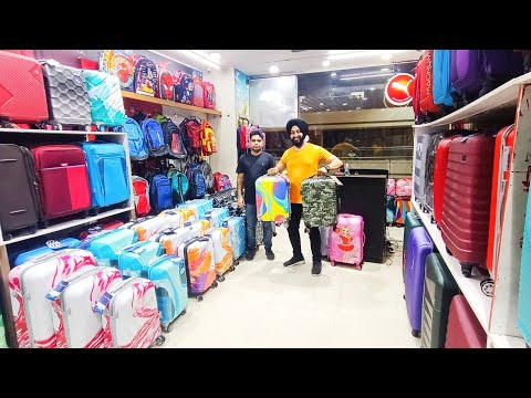 Branded luggage Bags || 100% Original with upto 60% Off || Cabin bags , Laptop bags || Central Mall