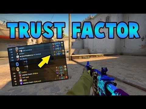 CSGO - Is Trust Factor working? New Trust Factor Update