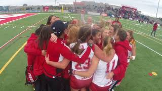 York Lions | Field hockey celebrates winning first OUA championships since 1996 - Oct. 29, 2017