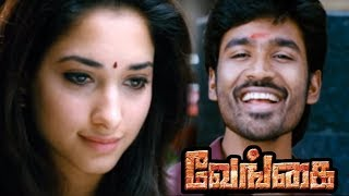 Venghai | Vengai Tamil full Movie  Scenes | Local Rowdy insults Dhanush | Dhanush falls for Tamanna