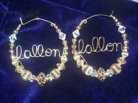 gold filled beaded jewelry earrings youtube