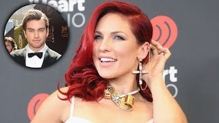Sharna Burgess Reacts to 'Lovely' Pierson Fode Calling Her a 'Babe'