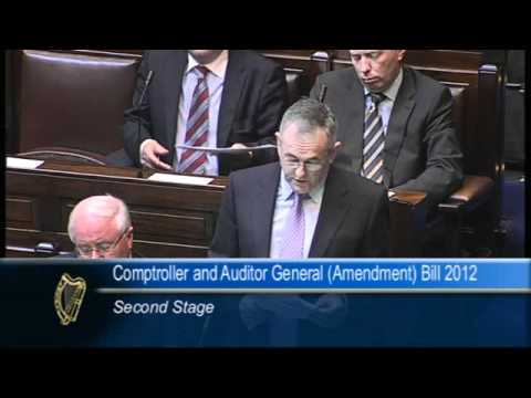 John McGuinness - Comptroller and Auditor General Bill 2012