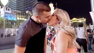 "The Prank Invasion Method - ""Kissing Prank"" In Las Vegas"